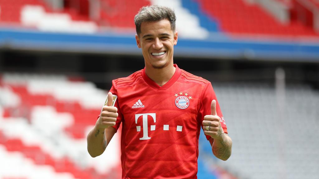 Philippe Coutinho wechselt auf Leihbasis zum FC Bayern