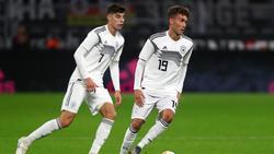 Luca Waldschmidt (r.) schwärmt vom FC Bayern