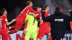 1. FC Kaiserslautern steht im Achtelfinale des DFB-Pokals