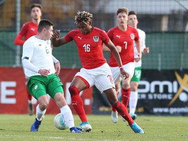 Salzburgs Chikwubuike Adamu erzielte den zweiten Treffer der ÖFB-Auswahl