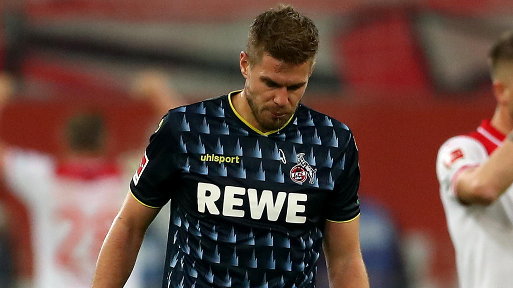 Kölns Simon Terodde weiß: Der 1. FC Köln hat