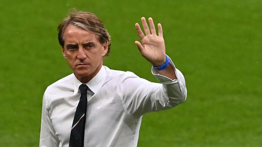 Nimmt die deutsche Mannschaft in Schutz: Roberto Mancini