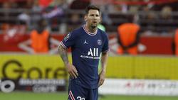 Lionel Messi spielt jetzt für Paris Saint-Germain