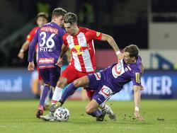Die Salzburger bleiben auch im dritten Pflichtspiel in Folge ohne vollen Erfolg