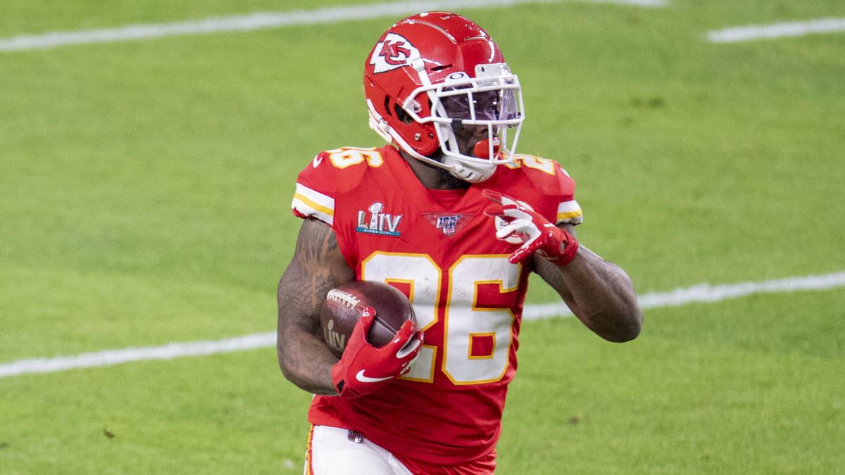 Hat sich entschlossen auf die NFL-Saison zu verzichten: Damien Williams von den Kansas City Chiefs