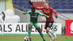 Kein Sieger im Duell zwischen Fürth und Hannover