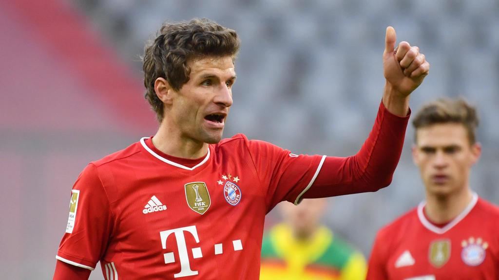 Thomas Müller ist beim FC Bayern gesetzt