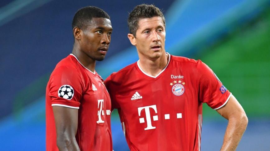David Alaba und Robert Lewandowski erhalten vom FC Bayern keine Freigabe