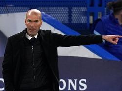 Zidane en el último duelo Champions contra el Chelsea.