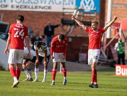 Barnsley jubelt über einen weiteren Sieg