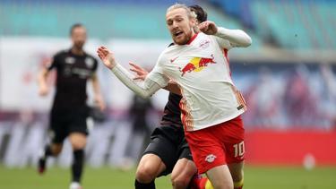 Steht bei RB Leipzig vor der Vertragsverlängerung: Emil Forsberg