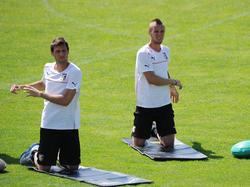 Trainingslager von US Palermo im Sommer 2012