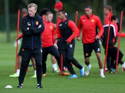 Für Manchester Uniteds Trainer David Moyes weht derzeit ein rauer Wind