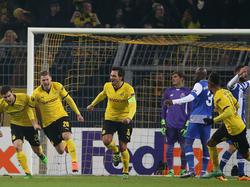 Lukas Piszczek abrió el marcador en Dortmund en el minuto 6. (Foto: Getty)