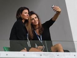 Selfie der Spielerfrauen