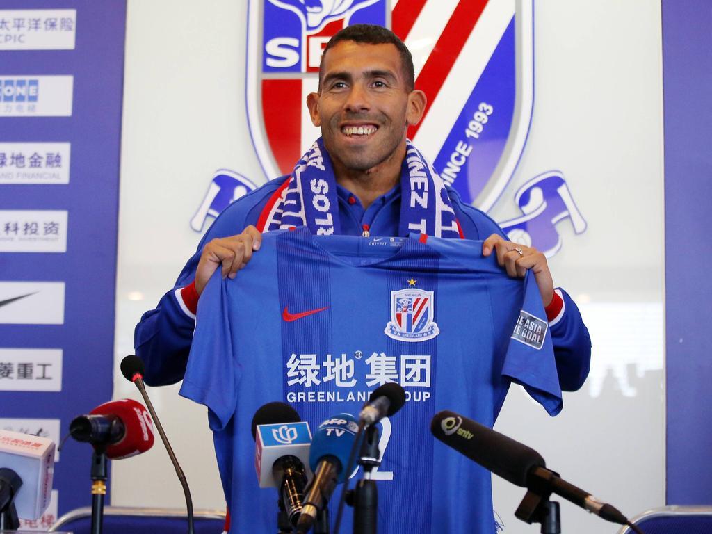 Carlos Tévez gilt in China als Inbegriff des Fußball-Söldners