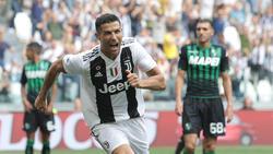 Ronaldo erzielte am vergangenen Wochenende einen Doppelpack