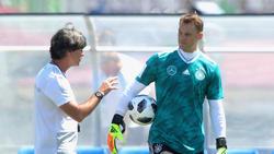Joachim Löw und Manuel Neuer durften ihre Stimme abgeben