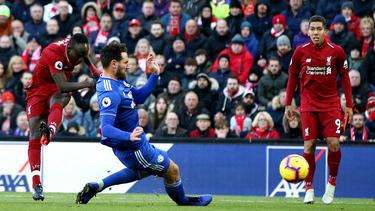 Sadio Mané schoss Liverpool mit einem Doppelpack zum Sieg gegen Cardiff City