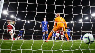 Mesut Özil war an allen drei Arsenal-Toren beteiligt