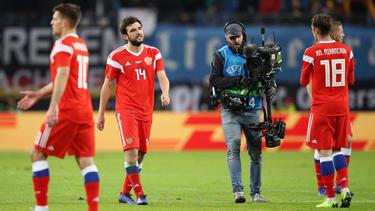 Russland enttäuschte beim 0:3 gegen Deutschland