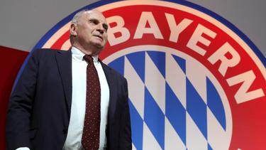 Uli Hoeneß macht sich über die Zukunft des FC Bayern Gedanken