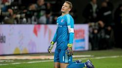 Manuel Neuer musste einmal mehr ein Gegentor hinnehmen