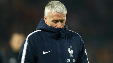 Frankreichs Weltmeister-Trainer Didier Deschamps bleibt realistisch
