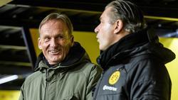 Hans-Joachim Watzke will im Kampf um den Titel noch nicht aufgeben