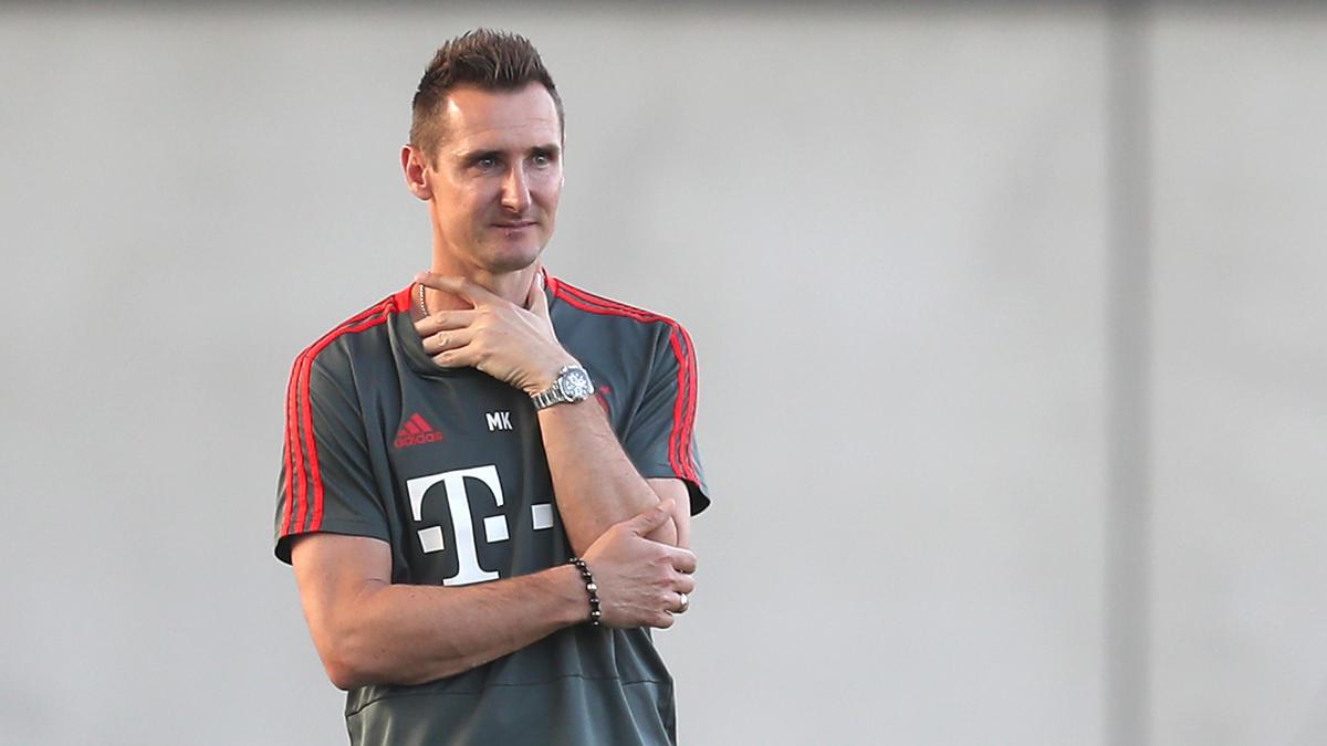 Miroslav Klose hat sich zum angeblichen Zoff beim FC Bayern geäußert