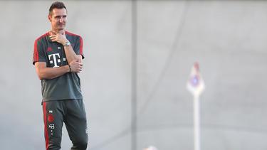 Miroslav Klose coacht seit einem Jahr die U17 des FC Bayern