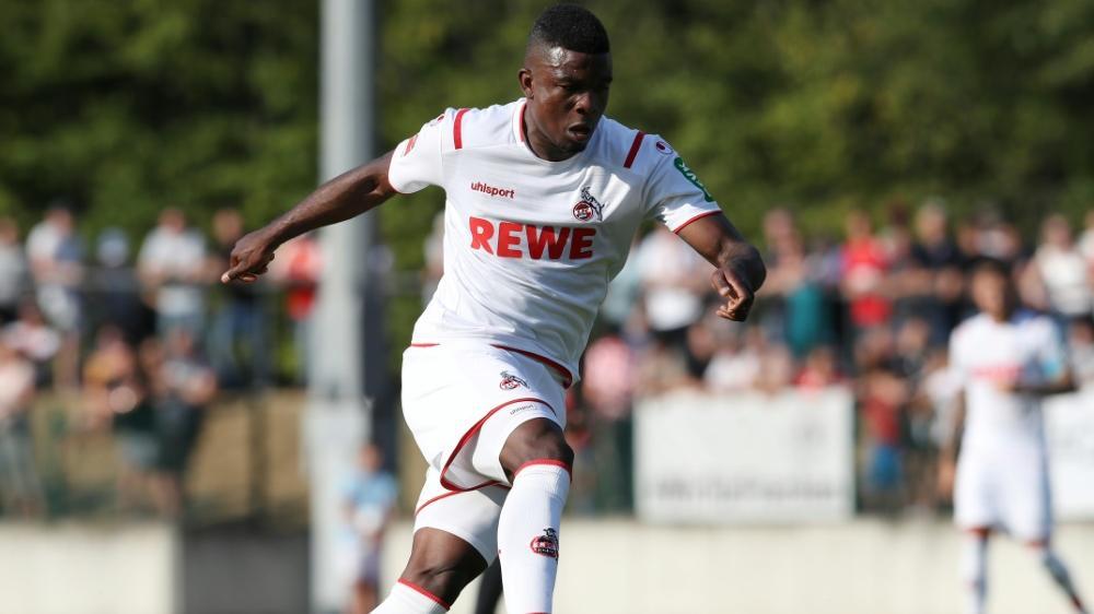 Jhon Córdoba erzielte im Tespspiel gegen Reutlingen drei Tore