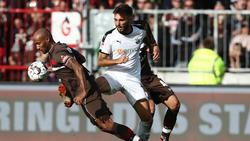 Künftig für den 1. FC Nürnberg am Ball: Fabian Schleusener (m.)