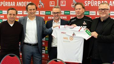 Der 1. FC Köln setzt ein Zeichen gegen Lebensmittelverschwendung