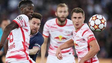 RB Leipzig verlor gegen Messi und Co.