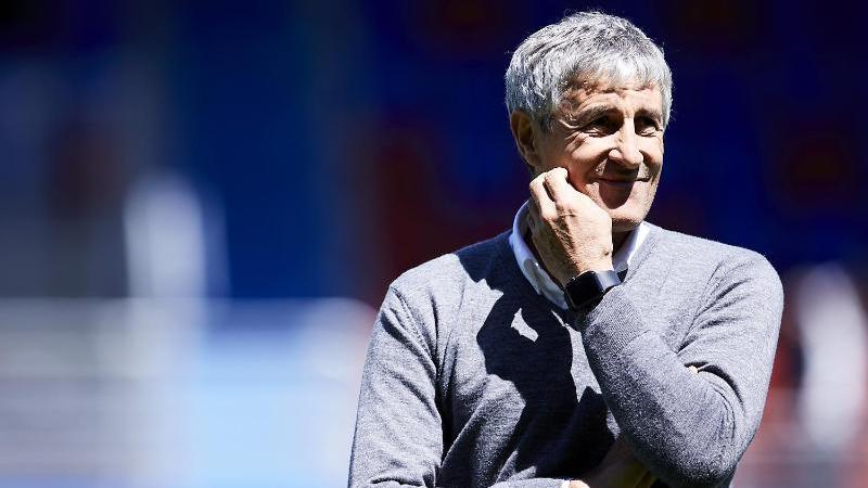 Quique Setién ist neuer Trainer des FC Barcelona