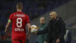 Musste ausgewechselt werden: Lars Bender (l.)