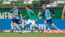 Werder Bremen und Gladbach trennten sich unentschieden