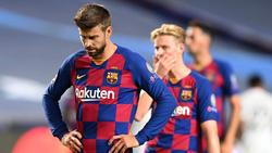 Piqué zeigte wie seine Mannschaft in Gänze eine schlechte Leistung gegen die Bayern