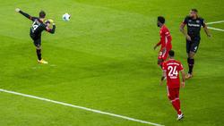 Leverkusens Schick traf zum 1:0 gegen den FC Bayern
