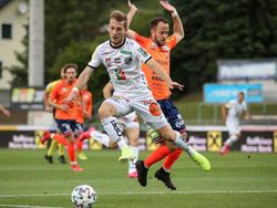 Marc Andre Schmerböck spielt ab nun nicht mehr gegen, sondern für den TSV Hartberg