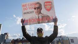 Stan Kroenke erfreut sich beim FC Arsenal nicht unbedingt großer Beliebtheit