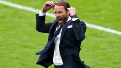 Trainer Gareth Southgate steht mit England im Viertelfinale der EM 2021