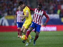 Jackson Martínez (r.) will sich bei Atlético durchbeißen