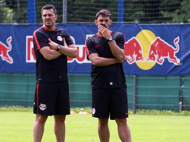 Ob Oscar und Ruben Martinez Salzburg in die Champions League bringen?