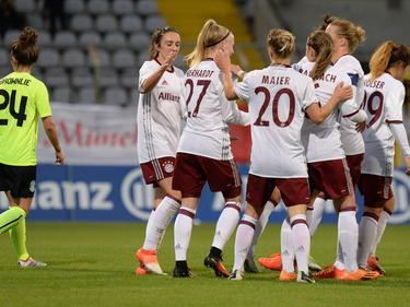 Die FCB-Frauen zogen problemlos in die nächste Runde ein