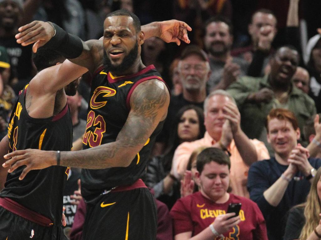 Führte seine Cleveland Cavaliers gegen Boston zum Sieg: LeBron James