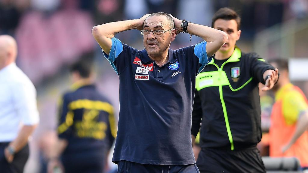 Maurizio Sarri soll Trainer des FC Chelsea werden