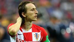 Luka Modric wurde als bester Spieler der WM ausgezeichnet