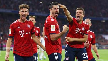 El Bayern marcó tarde sus goles decisivos. (Foto. Getty)